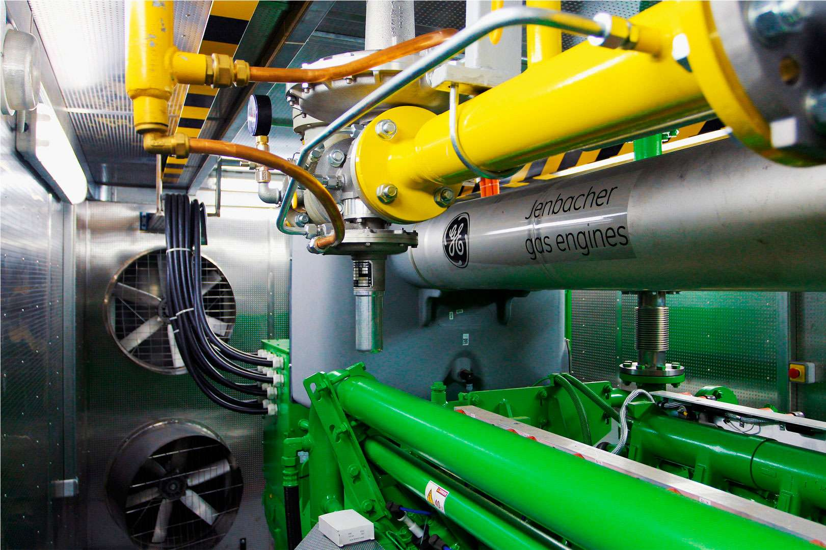 GE Jenbacher - обслуживание и ремонт газопоршневых электростанций